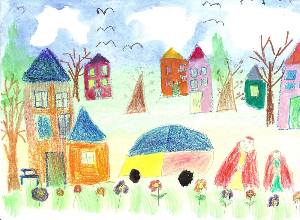 Dibujo y pintura de niño